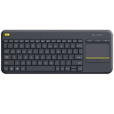 Logitech K400 Plus Dokunmatik Kablosuz Q Klavye (Siyah) (920-007149)