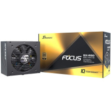Seasonic FOCUS 650W 80+ GOLD Tam Modüler Güç Kaynağı (SSR-650FX) - FOCUS GX-650