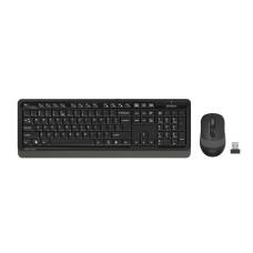 A4-Tech FG1010 Gri Q Kablosuz Klavye Mouse Set