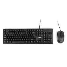 Dark KM1010 Karbon Desenli Türkçe Q Klavye & Mouse Set (DK-AC-KM1010)