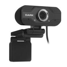 Dark WCAM20 Full HD 1080P, HQ Yüksek Kalite Ses ve Görüntü Destekli, Monitör Üstü Uyumlu, Hassas Gürültü Önleyici Mikrofonlu USB Webcam
