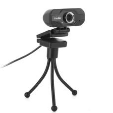 Dark WCAM20 Full HD 1080P, HQ Yüksek Kalite Ses ve Görüntü Destekli, Monitör Üstü Uyumlu, Tripod Ayak Dahil, Hassas Gürültü Önleyici Mikrofonlu USB Webcam
