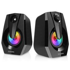 Dark SP110 1+1 LED'li Multimedia USB Speaker Hoparlör