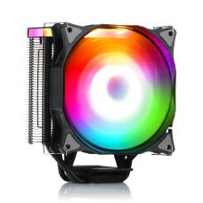 Dark Freezer X126, 12cm Adreslenebilir RGB LED'li, Intel & AMD Uyumlu, 4pin PWM Fanlı, 4x Isı Borusu, Direkt Kontak İşlemci Soğutucu (DKCCX126)