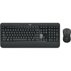 Logitech MK540 Q Kablosuz Klavye Fare Set (Siyah) (920-008687)