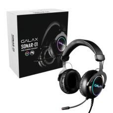 Galax Sonar 01 Gaming Headset USB 7.1 Kanal RGB Oyuncu Kulaklığı (GLX-HGS015USRGR0-GXLG)