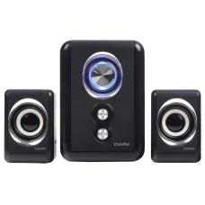 Dark SP211 2+1 LED'li Multimedia USB Speaker Hoparlör