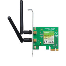 Tp-Link TL-WN881ND 300Mbps 2 antenli Kablosuz PCI-E Kart