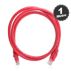 Dark 1m CAT6 CU AWG24/7 UTP Kırmızı Network Kablosu (DK-CB-NT6U100R)